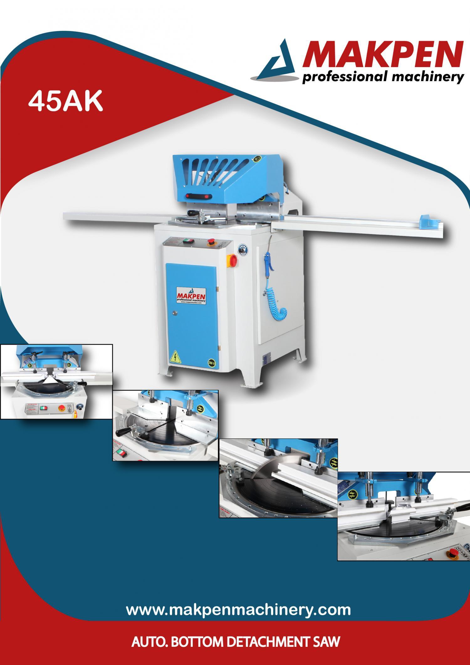 45AK Автоматический станок с одной головкой для сварки ПВХ