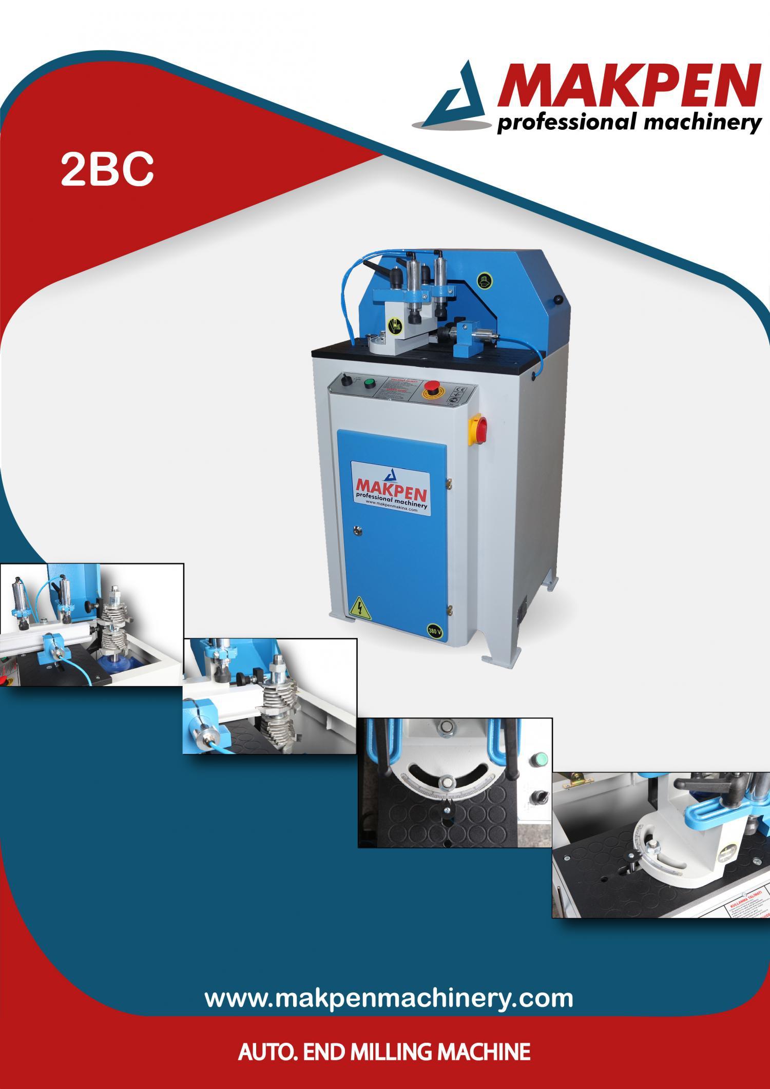 2BC -Автоматический станок для обработки импоста